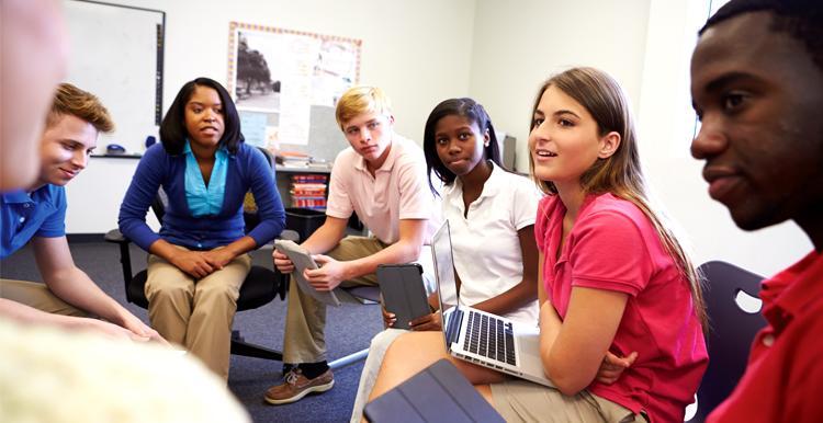Teen Group Meeting