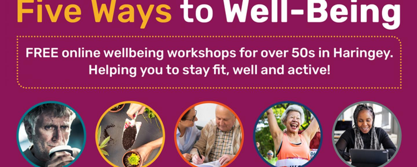 Five Ways to Wellbeing workshops Image