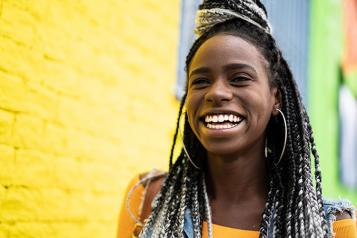 Black Female Teenager