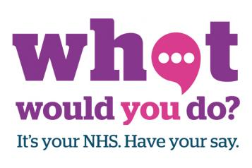 Healthwatch - What would you do graphic