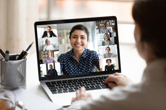 Online Group Meeting Image