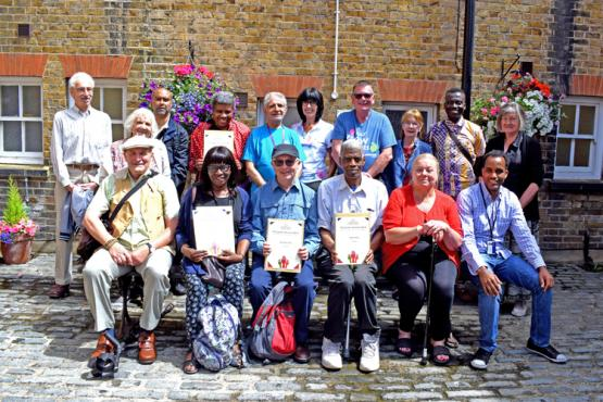 Image of Healthwatch Haringey volunteers