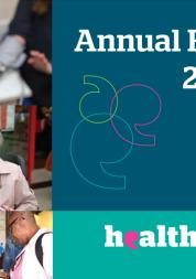 Cover of Healthwatch Haringey Annual Report 2017-18